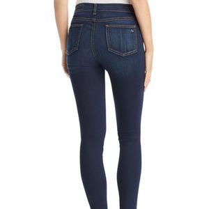 Rag & Bone Denim High Rise Skinny Jean